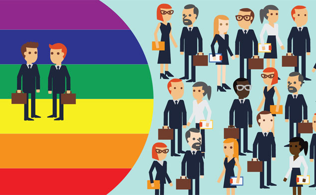 Do companies support LGBT staff in China?