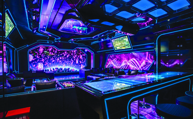 Shanghai's flashiest KTV