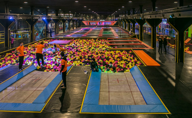 ... new trampoline park has opened in Baoshan - Blog - Time Out Shanghai