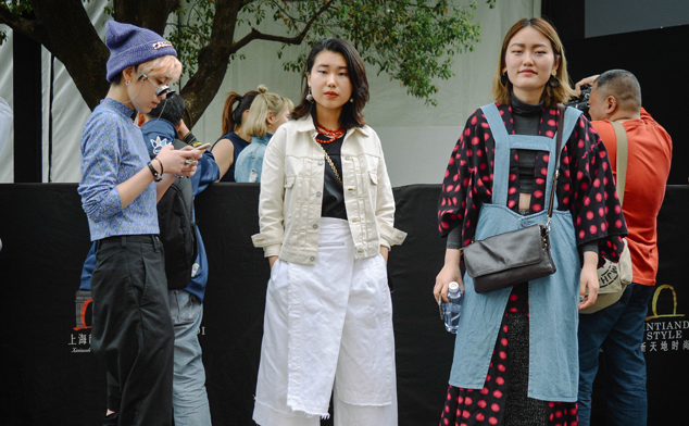Street style at Shanghai Fashion Week AW 2016