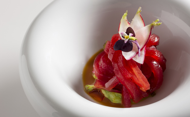 Jean-Georges and TRB's Four Hands Dinner