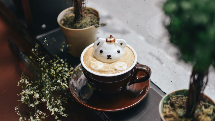 3 of the most photogenic coffees to try in Shanghai