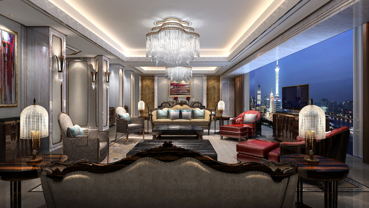 A seven-star hotel has just opened in Shanghai