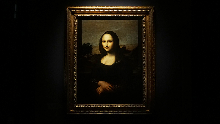 Is the Earlier Mona Lisa an authentic da Vinci creation?
