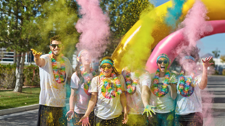The Color Run is returning to Shanghai for 2016