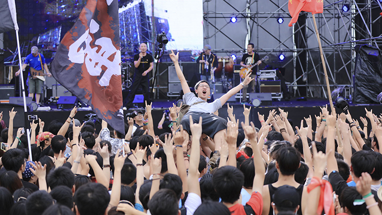 Music festivals in and around Shanghai