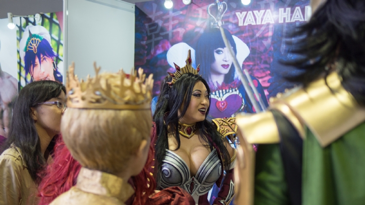 In photos: Shanghai Comic Con 2016