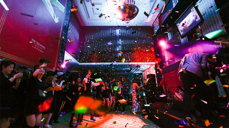 New Year's Eve parties in Shanghai 2016