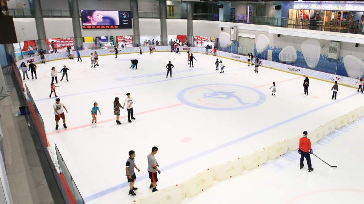 5 of the best ice skating rinks in Shanghai