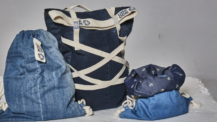 Turn your old jeans into something new with UseDem