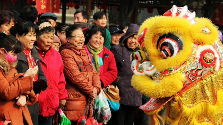 Experience a traditional Chinese New Year