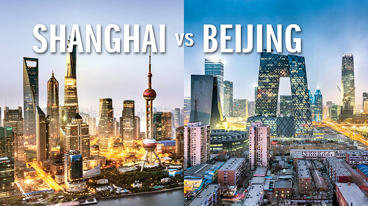 Shanghai vs Beijing: The winner is clear