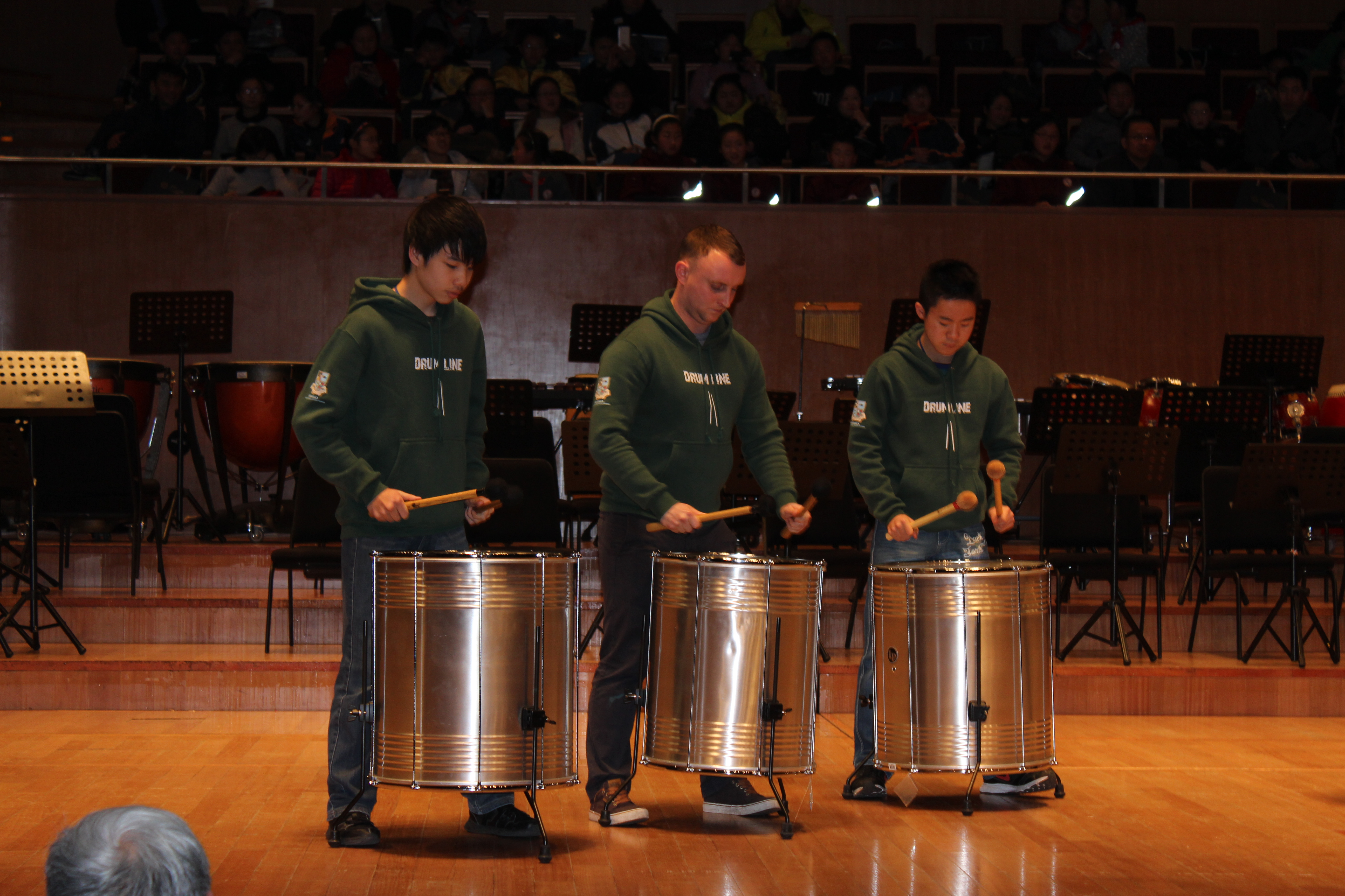 Drum Line at the Shanghai New Year International Festival