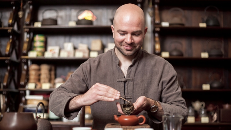 Inside Job: Tea ceremony performer