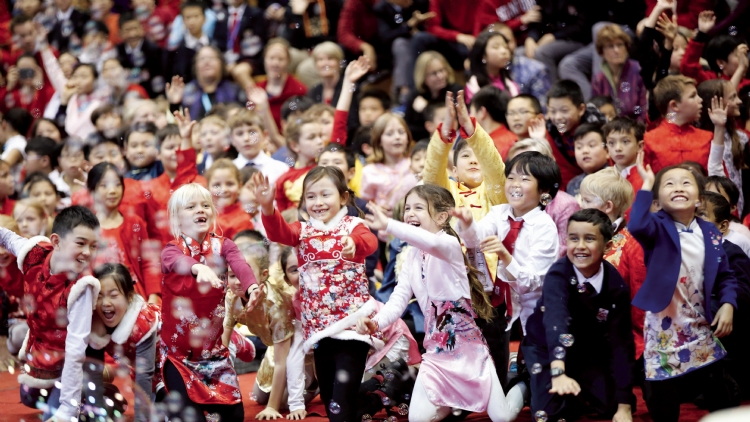 Dulwich College Shanghai marks the Year of the Rooster