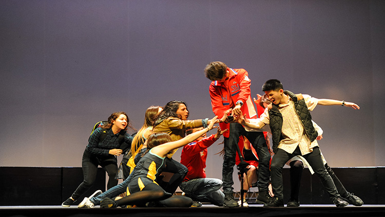 One of the festival's student performances