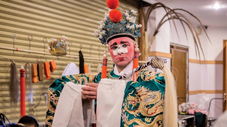 Inside Job: Kunqu performer