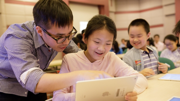 Swift Playgrounds classes at Shanghai Science and Technology Museum