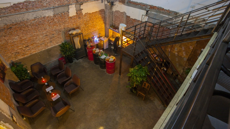 Ruin is now open for spritzes and chill behind DADA
