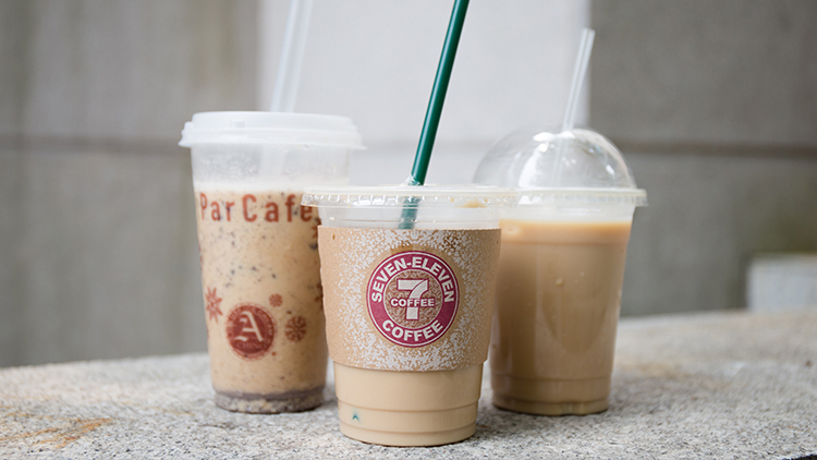 Shanghai's best cheap iced coffee