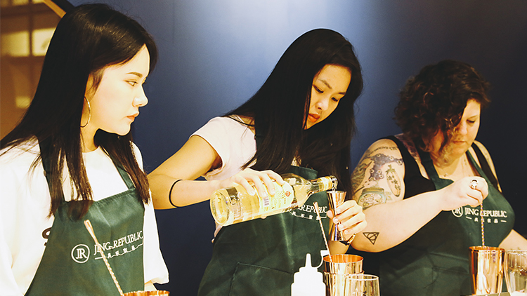 Shake things up at Jing Republic's cocktail and cooking class