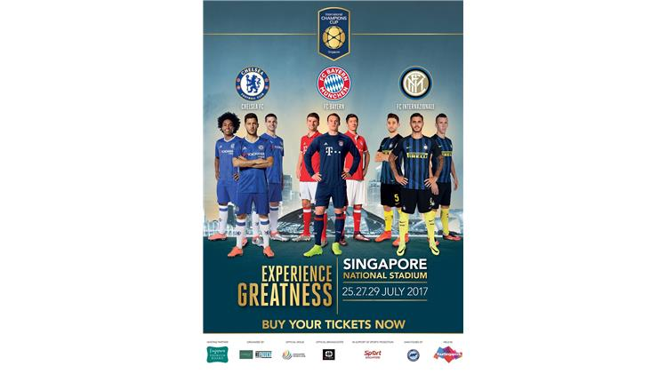 Singapore International Champions Cup Football Package