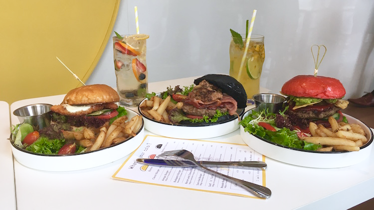 Check out new hipster burger joint Sunny's in Jingan