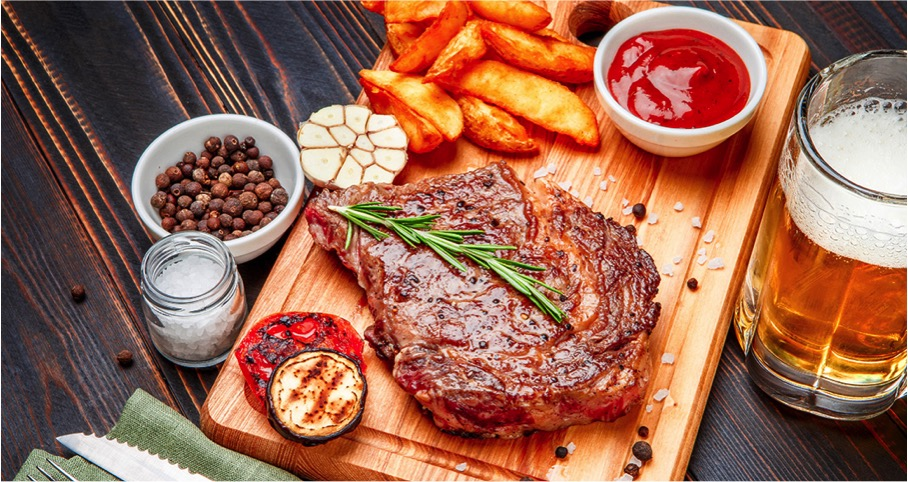 Weekend steak and craft beer deal at Sasha's