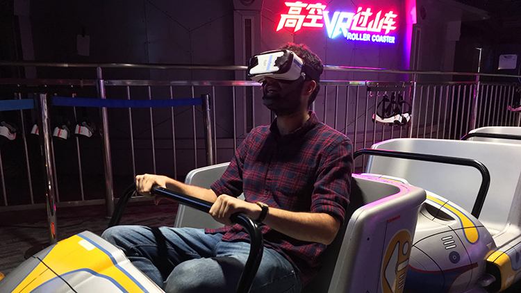 10. Ride the Pearl Tower's VR rollercoaster