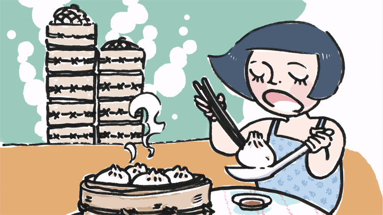 13. Worship the xiaolongbao