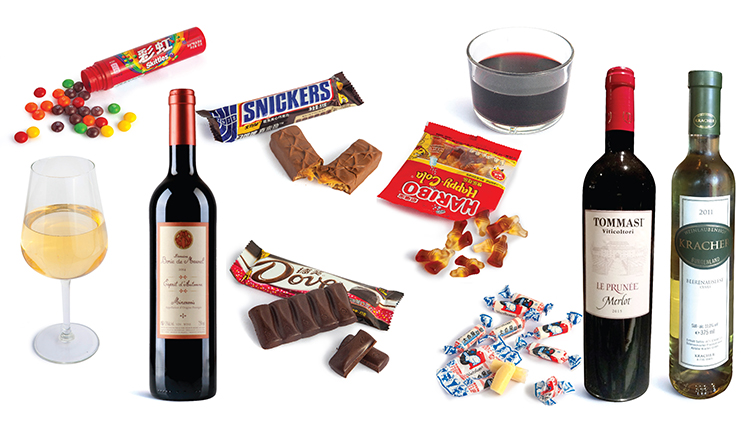 Top Shanghai sommeliers pair wine with classic Halloween treats
