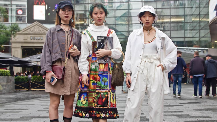 12 street style looks to fall for at Shanghai Spring Summer 2018