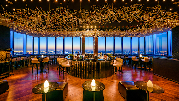 THE BAR grand opening at the Grand Hyatt Shanghai Global Harbor