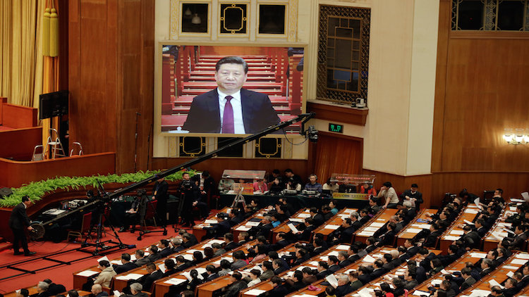 Mobile game of applause for Xi Jinping is a hit