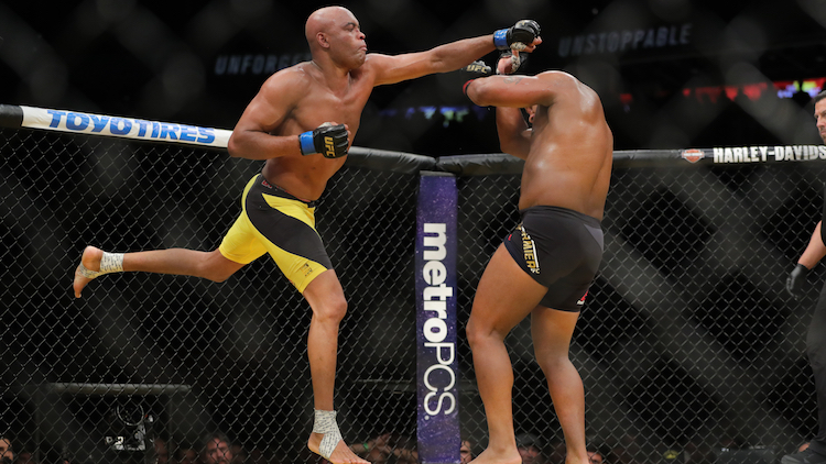 UFC fighter Anderson Silva out of Shanghai Fight Night after potential doping violation