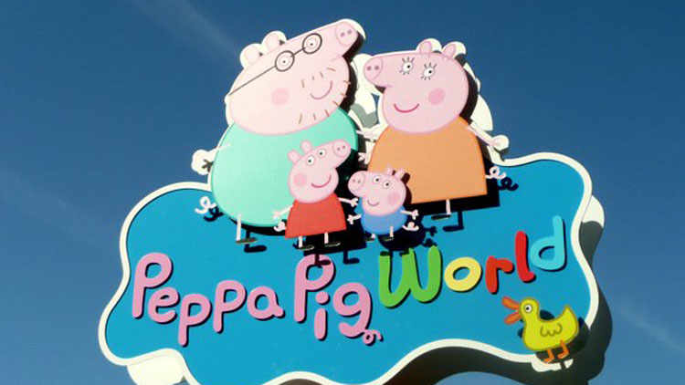 peppa pig land uk