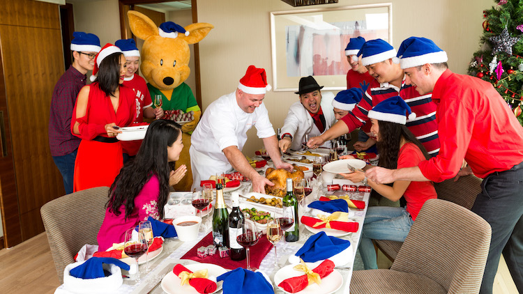 Christmas feast at The MEAT