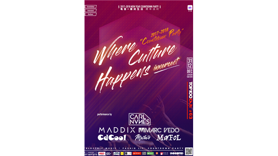 Electronic Music + Fashion Life Countdown Party
