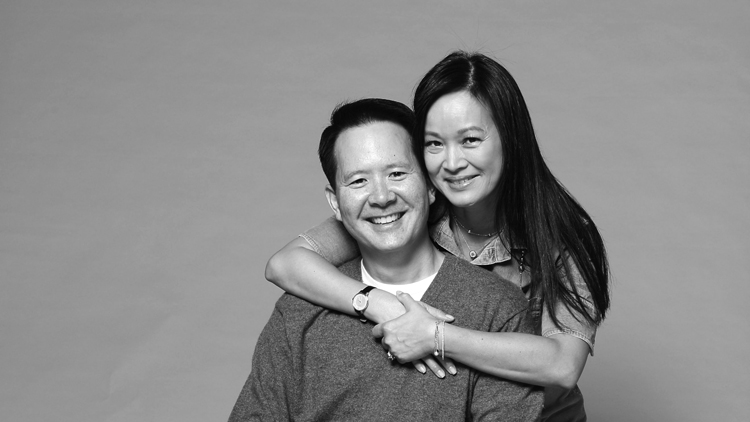 Power parents of Shanghai: Quynh and Nelson Chow
