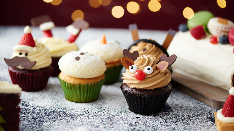 9 places to grab super festive Christmas desserts to take home