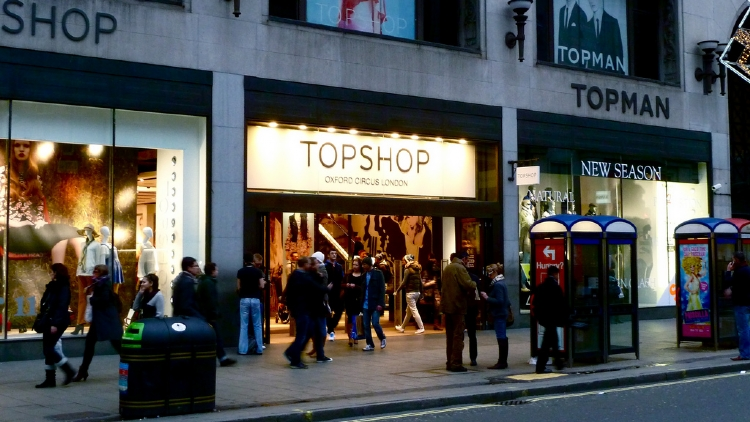 Topshop is opening a Shanghai store later this year