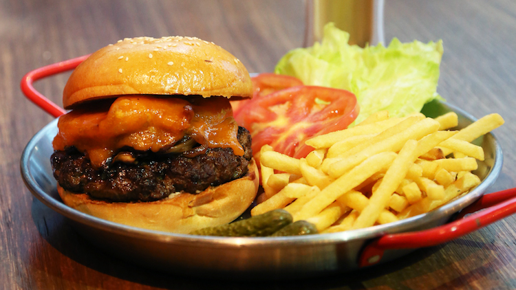 Sunday burger deal at The BREW
