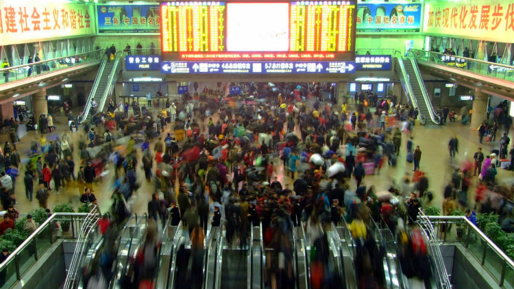 Chinese New Year rush sees 10.3m train tickets sold in one day