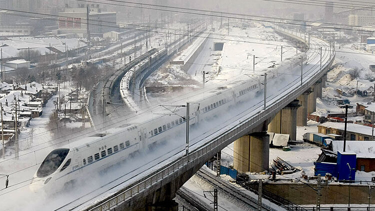 Shanghai-Beijing highspeed trains cancelled due to snowfall