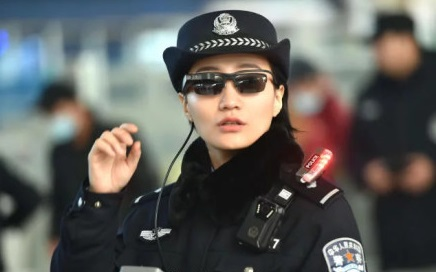 Railway police have started using facial recognition glasses