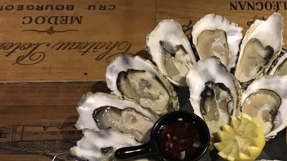 Oyster Fever at QV wine bar