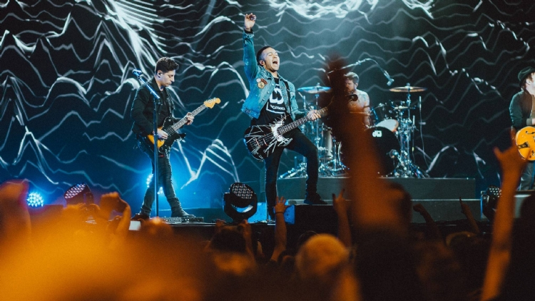 Fall Out Boy are coming to Shanghai