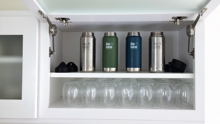 Start using reusable bottles