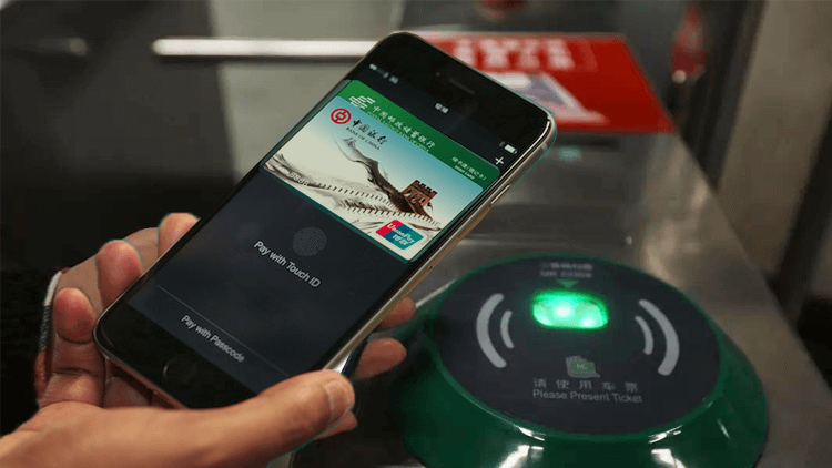 Apple Pay can now be used for the Shanghai metro