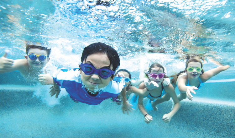 The best swimming classes for kids in Shanghai